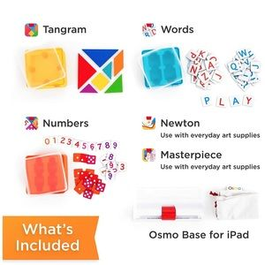 Osmo genius kit kids learning toy math spelling